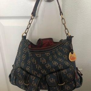 Vintage Downey & Bourke Denim Bag